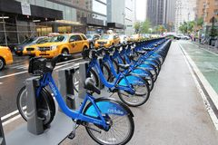 Citibike New York Royalty Free Stock Photo
