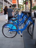 CitiBike NYC Images stock
