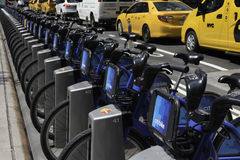 Citibikes Stock Image