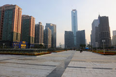 CITIC Plaza and Guangzhou East Station Square Royalty Free Stock Image