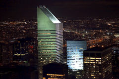 Citicorp Building Skyscraper New York City Night Stock Image