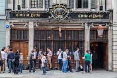 Citie av Yorke London England Royaltyfria Bilder