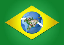 Cities of Brazil. Royalty Free Stock Photography