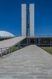 Cities of Brazil - Brasilia - Brazil's Capital. BRASILIA, BRAZIL - CIRCA MARCH 2015: Brazilian National Congress in Brasilia, Brazil stock images
