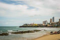 Cities of Brazil - Natal, RN. Ponta Negra Beach and Morro do Careca - Natal, Rio Grande do Norte, Brazil Royalty Free Stock Image