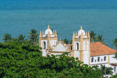 Cities of Brazil - Olinda, Pernambuco State. Olinda is a historic town, near Recife, capital of Pernambuco state royalty free stock photos