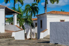 Cities of Brazil - Recife. Cinco Pontas Fort in Recife, the state capital of Pernambuco, in northeastern Brazil. Famous for being the scene of important passages Stock Photography