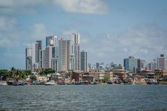 Cities of Brazil - Recife, Pernambuco state`s capital royalty free stock photography