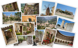 Cities of Mallorca Stock Image