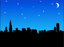 Cities night Stock Photography