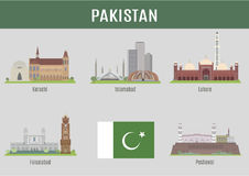 Cities in Pakistan Stock Image