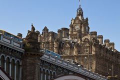 Cities of scotland Royalty Free Stock Photography