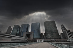 Cities in Trouble - Property Mkt in Trouble Royalty Free Stock Images