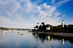 Cities and villages of Brittany: Benodet Royalty Free Stock Photo