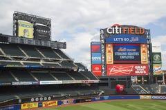 Citigebied, huis van het belangrijke team van het ligahonkbal de New York Mets Stock Foto