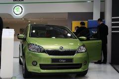 Citigo. BELGRADE - MARCH 26: A Skoda Citigo on International Motor Show March 26,2013 in Belgrade, Serbia Stock Photos