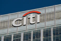 Citigroup Londen Royalty-vrije Stock Afbeelding