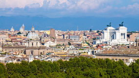 Citiscape of Rome Royalty Free Stock Photography