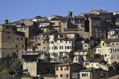Citiscape of Siena Royalty Free Stock Photo