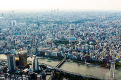 Citiscape of Tokyo, Japan Royalty Free Stock Photography