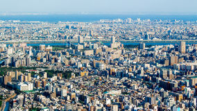 Citiscape of Tokyo, Japan Royalty Free Stock Image