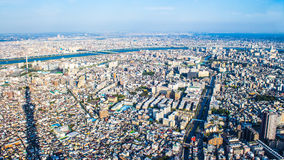 Citiscape of Tokyo, Japan Stock Photos