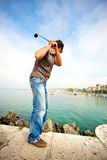Citiy golf Royalty Free Stock Photo