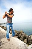 Citiy golf Royalty Free Stock Photo
