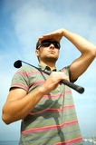 Citiy Golf Stockbild
