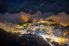 Citiyscape meraviglioso nel Vietnam immagine stock