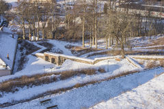 Citizen bastion of Fredriksten fortress Royalty Free Stock Images