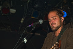 Citizen Cope Live in NYC Royalty Free Stock Images