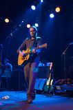 Citizen Cope Live in NYC. February 11, 2010: Citizen Cope aka Clarence Greenwood performing live on stage at the Music Hall of Williamsburg in New York City, for Royalty Free Stock Photography