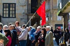 Citizen protest in Spain Stock Photo