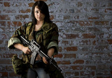 Citizen soldier royalty free stock images
