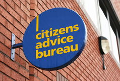Citizens Advice Bureau Royalty Free Stock Image