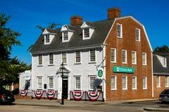 Citizens Bank, Washington Square, Newport, RI. Stock Images