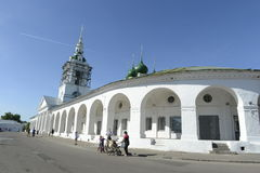 The citizens of the city Yaroslavl, Russia. Activities in the day. June 2014 Stock Images