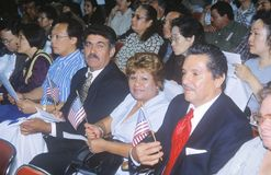 Citizenship Ceremony, Los Angeles, California Stock Image