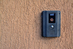 Citofono della macchina fotografica fotografie stock libere da diritti