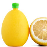 Citric acid in bottle Royalty Free Stock Photography