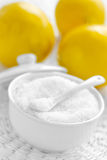 Citric acid Royalty Free Stock Photography