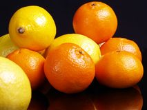 Citric fruits. Stock Images