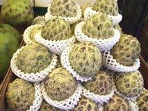 Citrifolia di Morinda E Gelso indiano noni gelso della spiaggia frutta del formaggio Immagini Stock