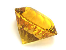 Citrine gemstone Royalty Free Stock Image