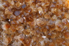 Citrine quartz background Royalty Free Stock Images
