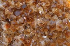 Citrine quartz background. Close up view to beautiful citrine quartz background royalty free stock images
