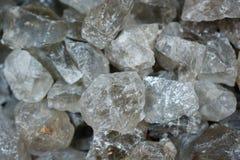 citrine semigem kamień jako kopaliny skały geody kryształy zdjęcia royalty free