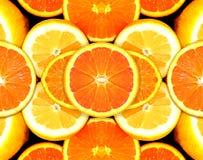 Citrino Fuits - laranja, limão fotografia de stock
