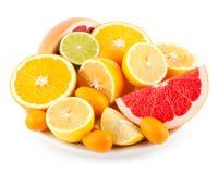 citrinos Foto de Stock Royalty Free
